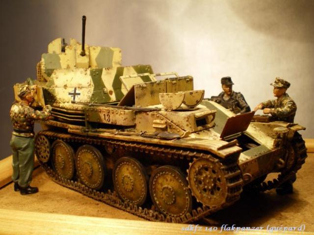 sd.kfz 140 flakpanzer (gépard) maquette Tristar 1/35 - Page 2 142534IMGP3233
