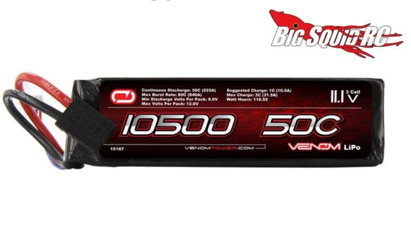 [New] Lipo Venom 3S 105000mah 50C 142748Capture