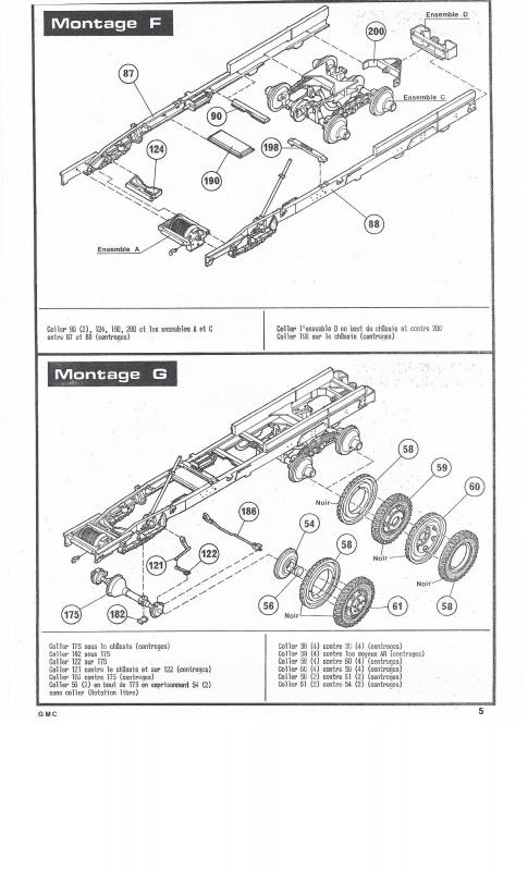 GMC . CCKW 353 (Réf. L809) 1/35 143103GMC005