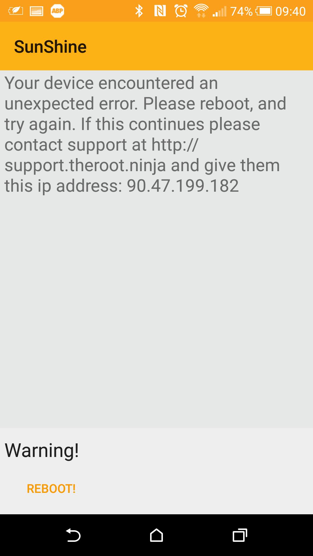 [INFO S-OFF HTC ONE M9 ] , METHODE SUNSHINE, Le S-off, le S-off .... pour le HTC ONE M9 - Page 5 145118Screenshot20160212094010