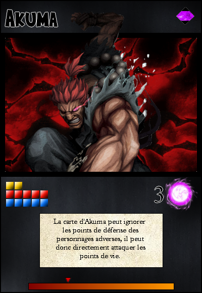 Jeu de cartes RPGDBZ 145204AkumacarteN11