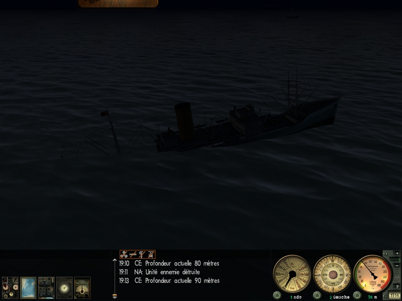 Silent Hunter III : rapports de patrouille. 145631Patr37