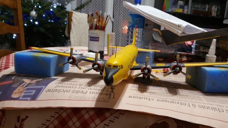 DOUGLAS DC-6B SECURITE CIVILE maquette HELLER au 1/72° - Page 2 14722120171216183359