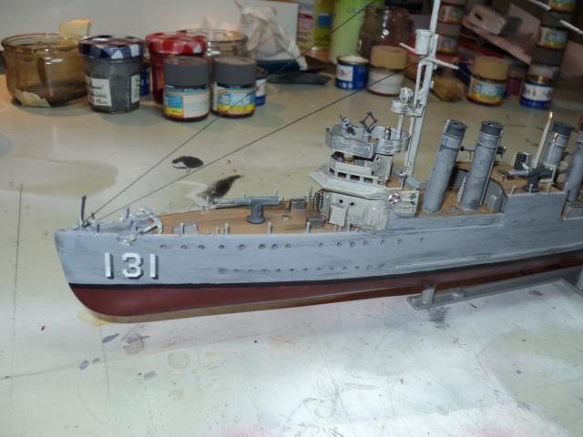 HMS Campbeltown 1/240 Revell 147383DSC01310
