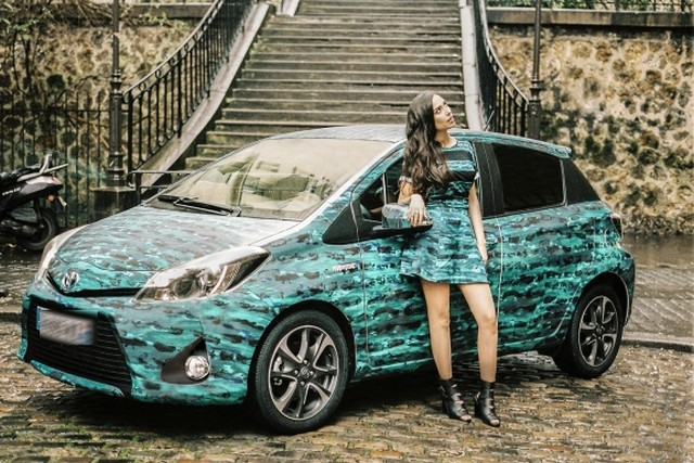 """On the Road"", quand Toyota soutient la mode... 148505toyotacapsule"