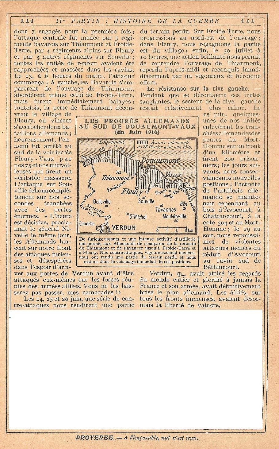 [HISTOIRES ET HISTOIRE] [SUJET UNIQUE] LE CENTENAIRE DE LA GRANDE GUERRE - Page 5 148733Verdun14