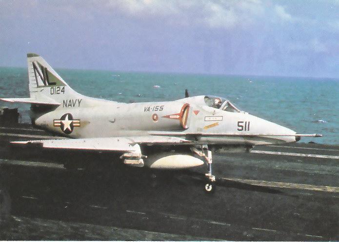 US NAVY PORTE-AVIONS CLASSE ESSEX (5EME PARTIE) 150024DouglasA4ESkyhawk