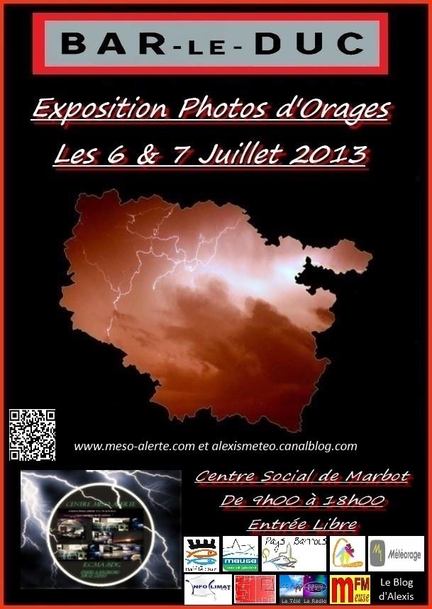 Exposition chasseurs d'orages - Bar Le Duc - 6 et 7 juillet 2013 150573montagealexis1avecpartenaire1