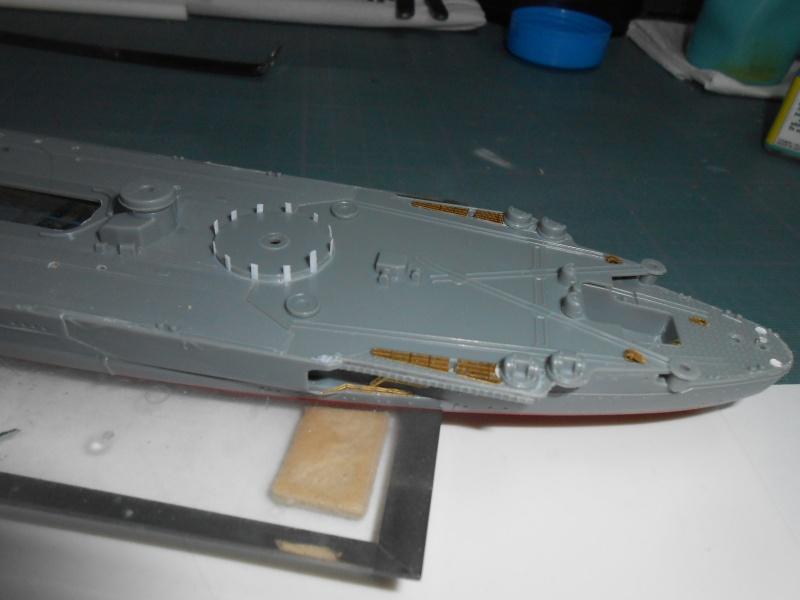 Yamato 1/700 fuji, PE,Pont en bois et babioles 151299yes001