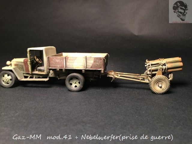 Gaz-MM mod 41 et Nebelwerfer (prise de guerre) - MiniArt + Dragon - 1/35 152430IMG5069