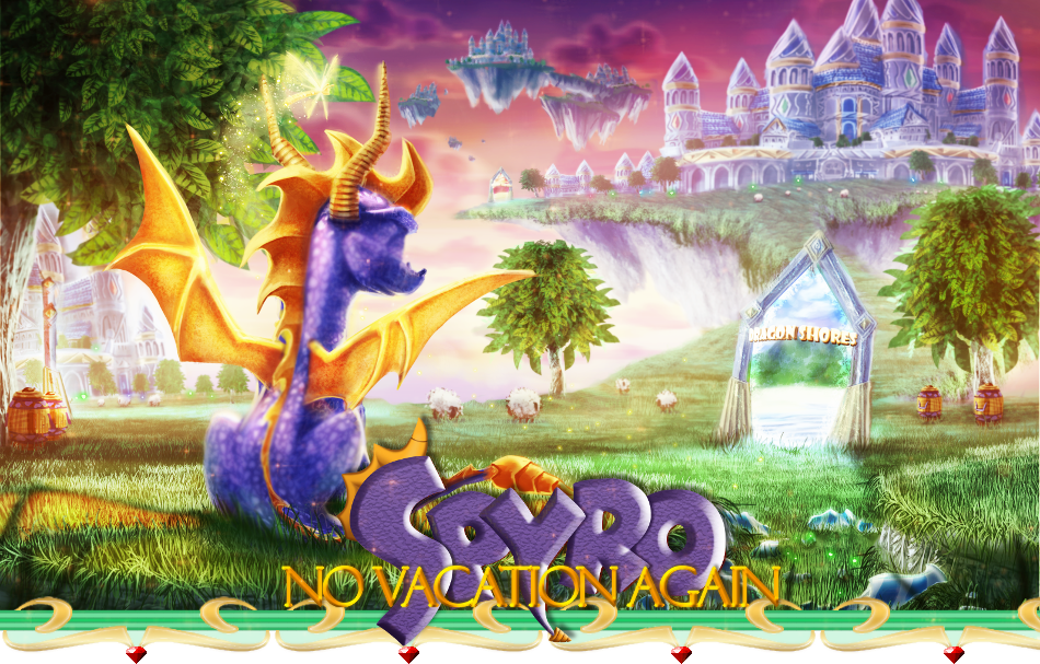 Spyro : No Vacation Again !