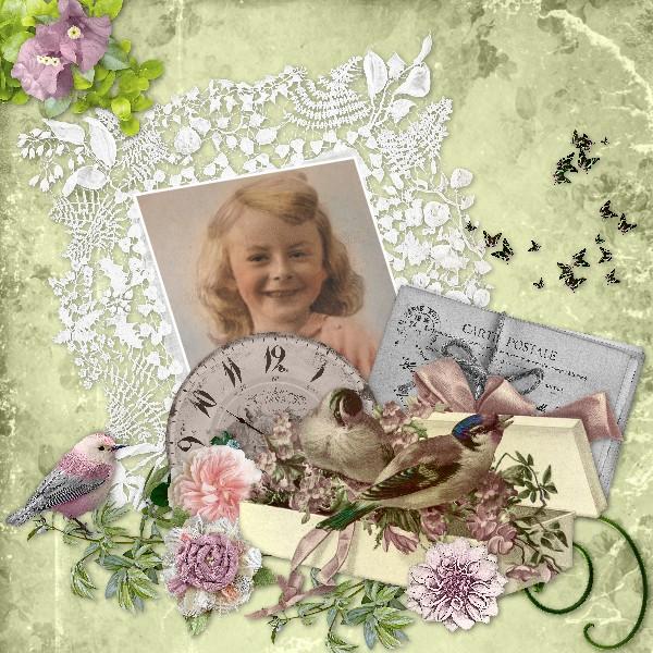Mes pages CT Floralys scrap 153566KitLetempsquipasseFloralysMalo6x6