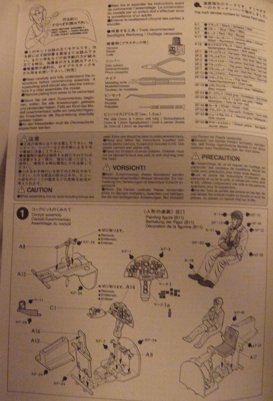 Dewoitine D.520 édition spéciale 1/48 Tamiya 154867D52004