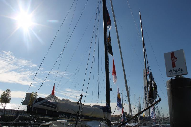 Visite du village et du ponton du Vendée Globe le 25/10/16 155472IMG4543