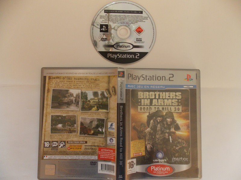 Brothers in Arms : Road to Hill 30 158592Playstation2BrotherinArmsroadtoHill30plat