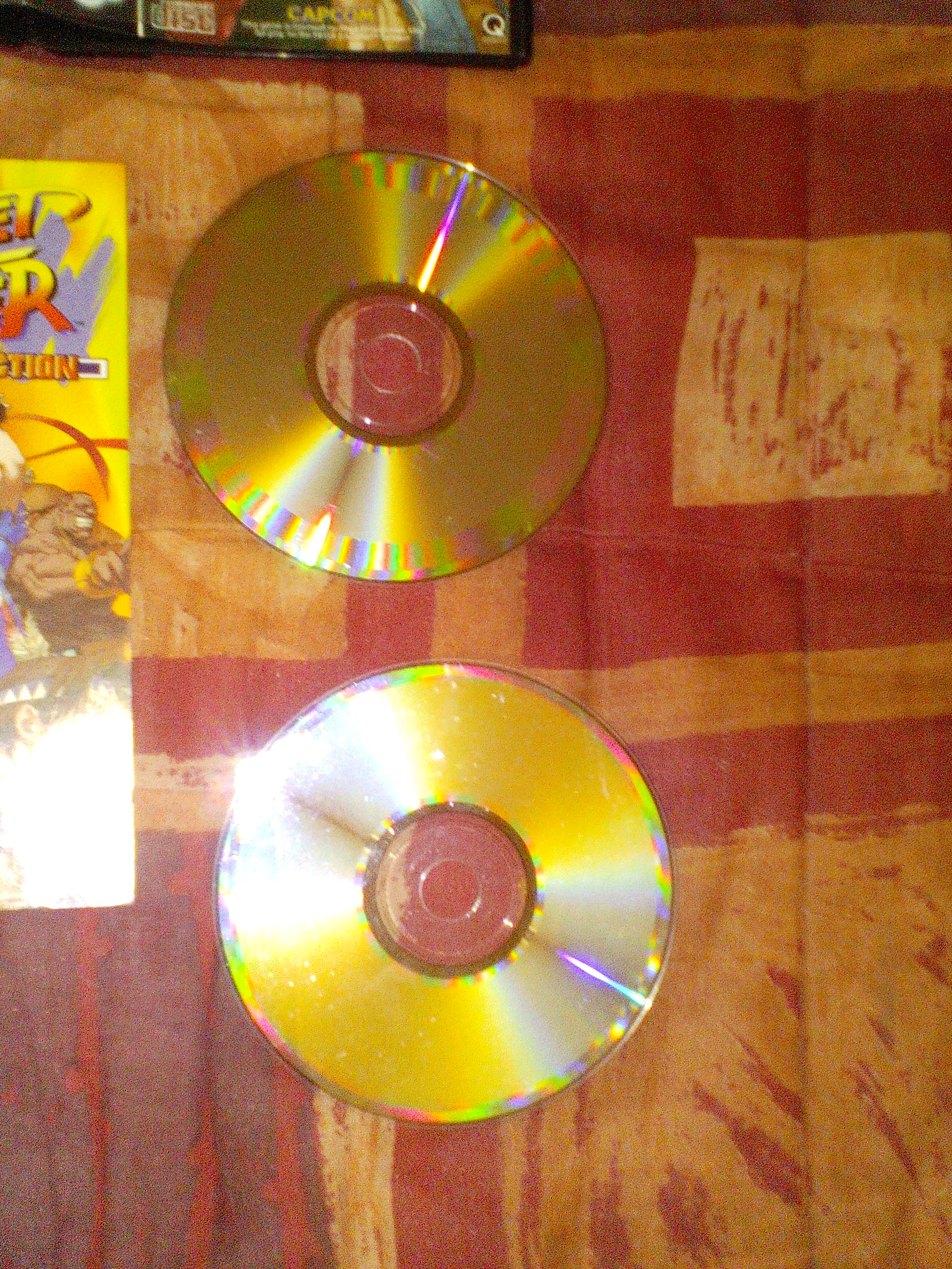 vends street fighter collection complet saturn PAL 159025sfcolleccd3