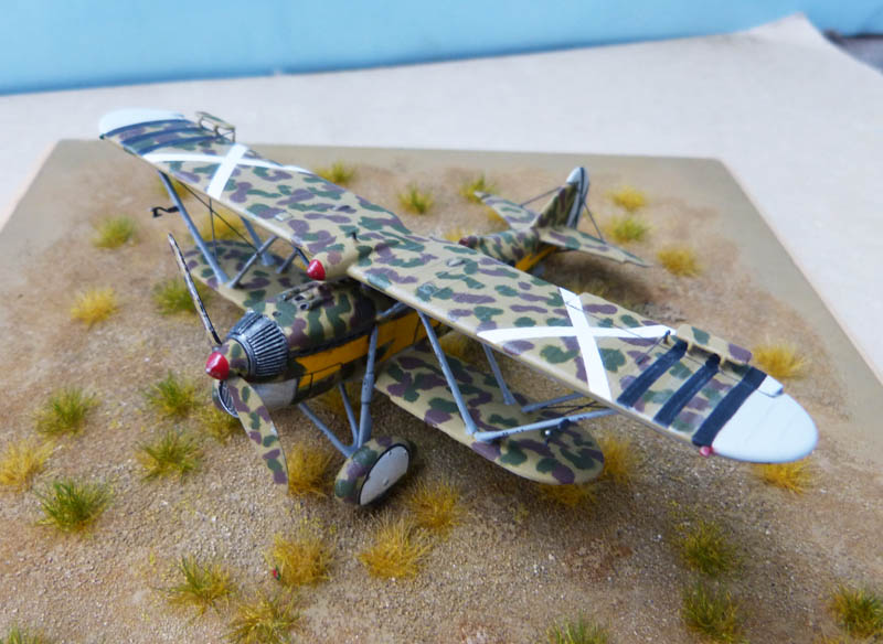 Fiat CR 32 de l'Aviation Légionnaire - Italeri (Upgrade ex Supermodel) 159154CR3282