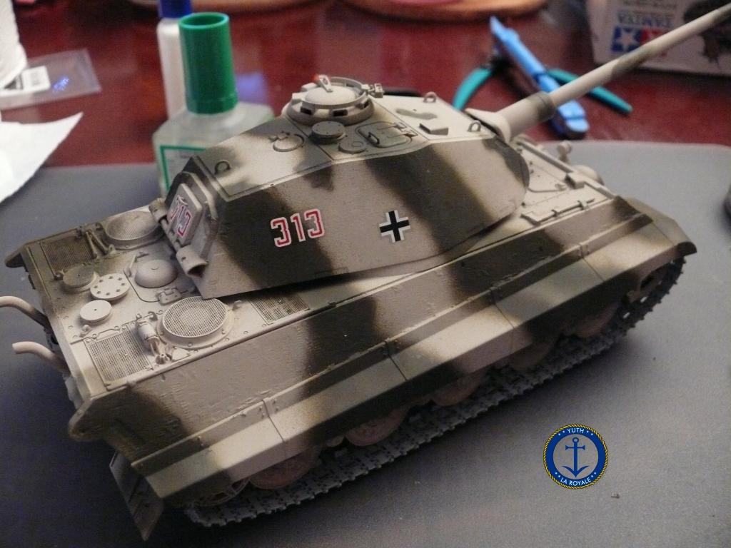 Sd.Kfz. 182 Panzer VI ausf B Tiger II Porsche Turret 159443konigstiger08