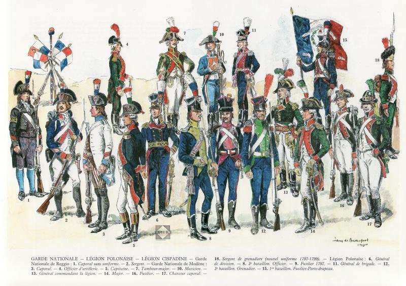 troupes de la République Cisalpine 159464gardenatioanlelgionpolonaise