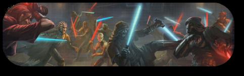 Conflit entre Jedi et Sith