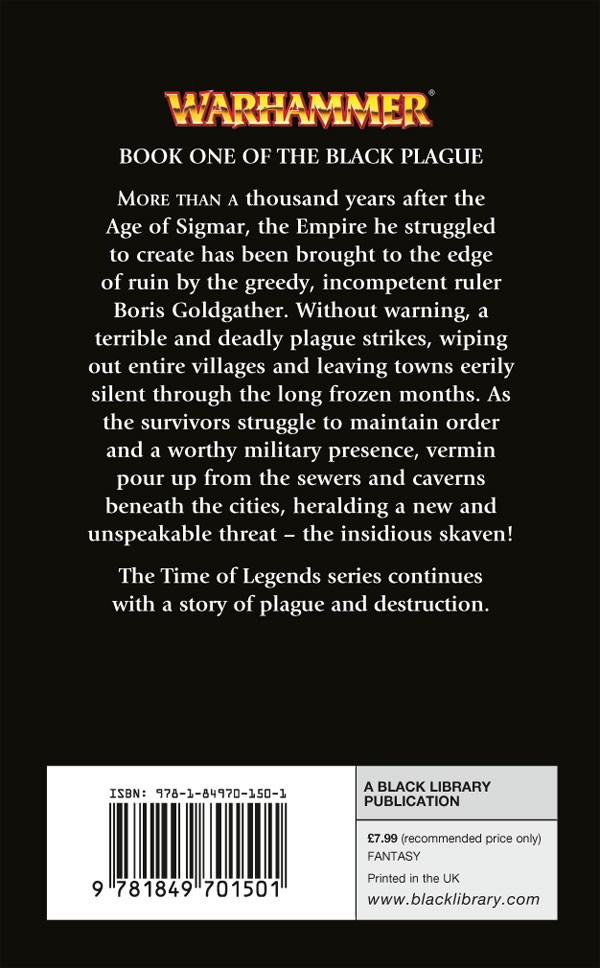 [Time of Legends] Dead Winter de CL Werner- The Black Plague I 159726deadwinter
