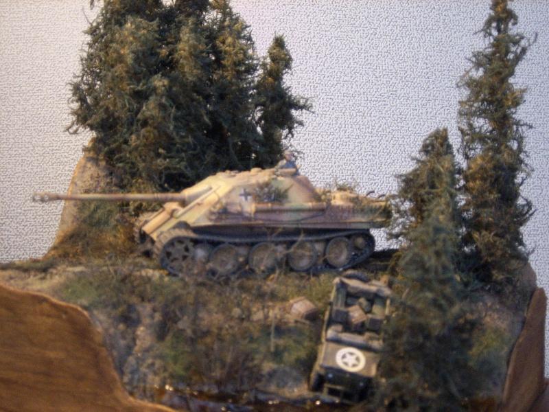diorama - diorama au 1/76eme : ... Mauvaise surprise !!! Ardennes 44... 1597540010b