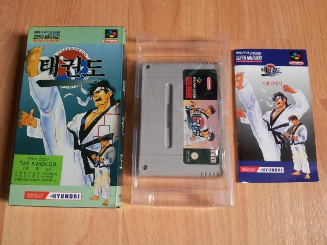 Prupru's Collection ! 100% Super Nintendo et 200% Super Comboy !! 160312TaekwonDo