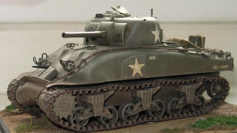 Sherman M4A1 late Italeri+scratch rénové 160674IMG0019