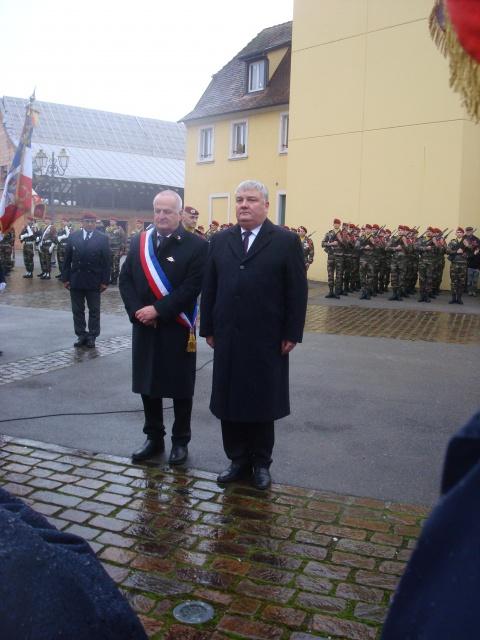 Jebsheim : 60 parachustistes du 1er RCP commémorent la libération de la Poche de Colmar 161418069