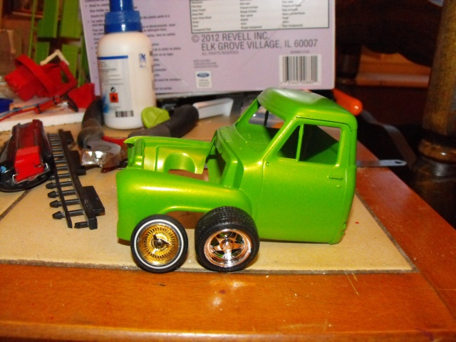 Ford F100 '55 lowrider greenfire (Terminé) 161696f1001