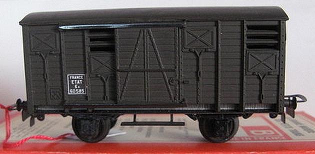 Wagons couverts plastique 162438VBplastiquecouvertetat
