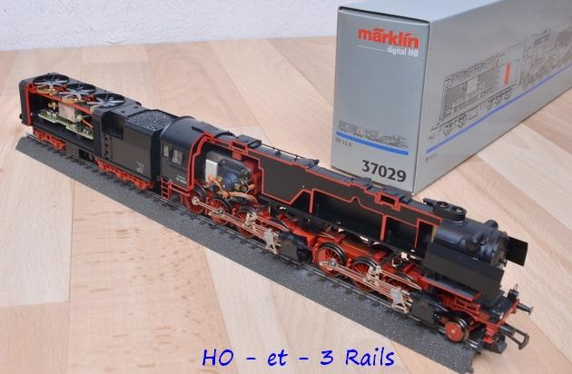 Les locomotives à vapeur articulées 162516Marklinmallet130040coupe37029R