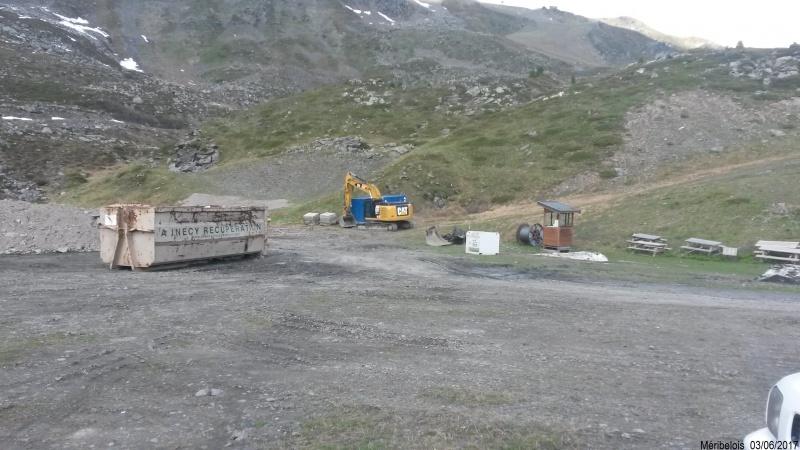Construction du télésiège débrayable 6 places (TSD6) Roc de Tougne 16260020170603110238