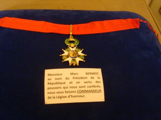"""Honneur au Choc , remise de la """"cravate de Commandeur... 162999011"""