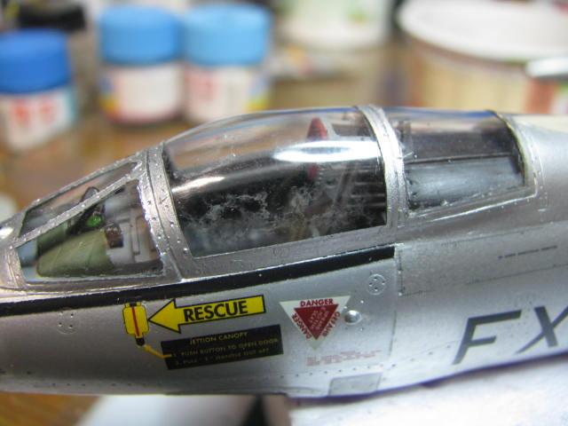 DUO: F-104N (NASA) + F-104G (BAF) Hazegawa 1/48  - Page 2 163847IMG7185