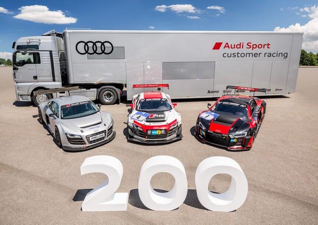 Audi produit la 200ème R8 LMS  165622A167345medium