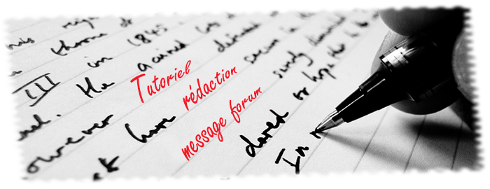 Tutoriel de rédaction de messages