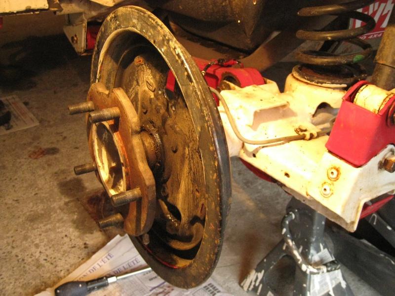 modification flasque tambours arrières pour démontage rapide des roulements 165840IMG2008