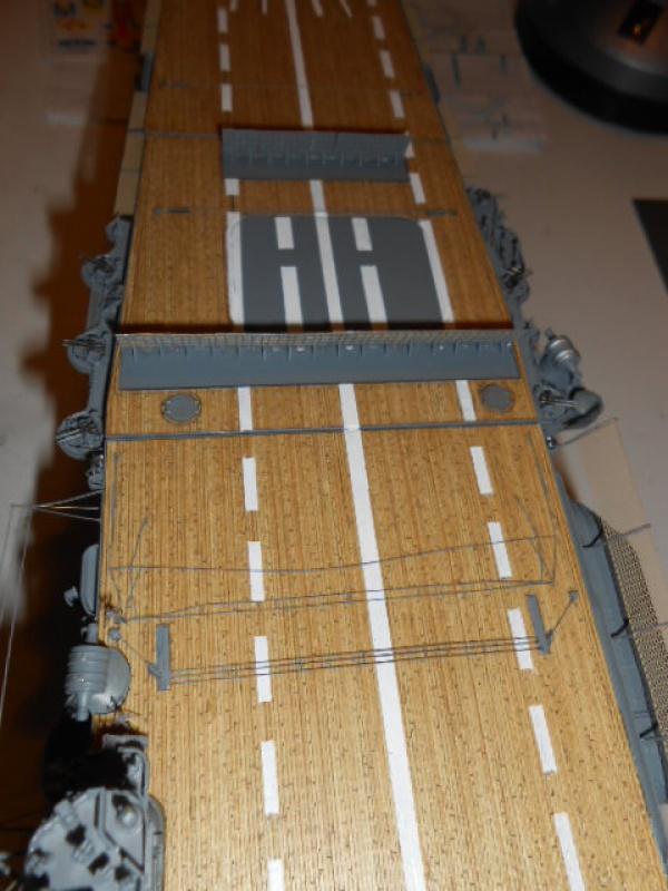 PA AKAGI 1/350 de chez Hasegawa PE + pont en bois par Lionel45 - Page 6 166102Aka014