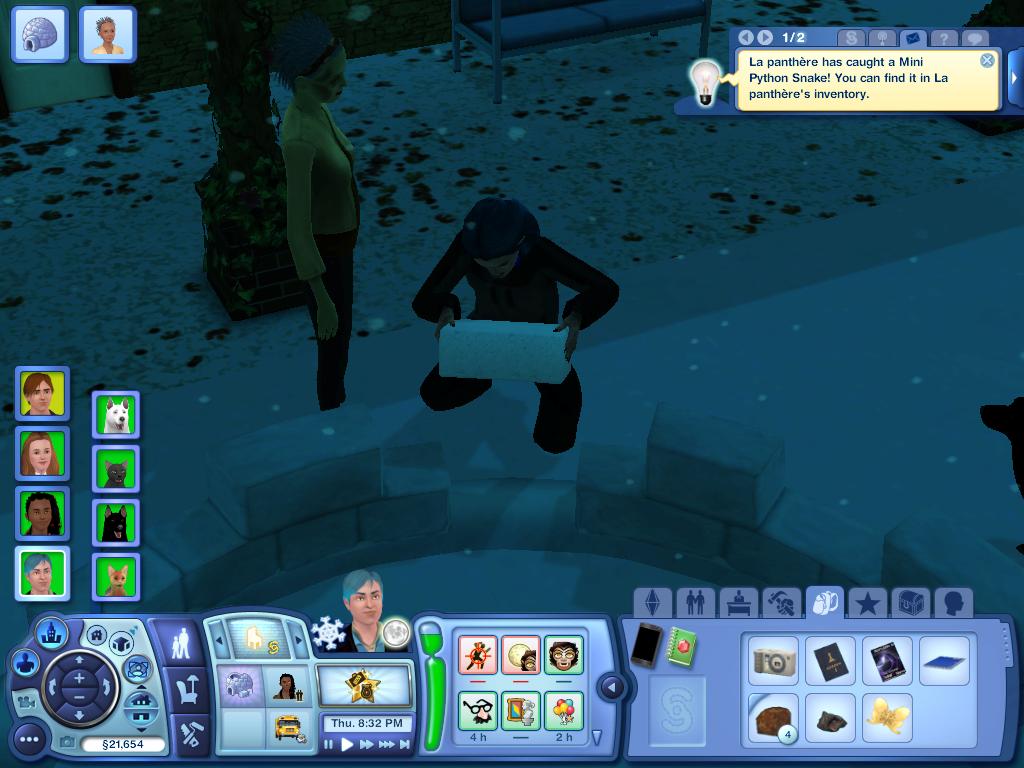 Les Sims ... Avec Kimy ! 166120bugdelattaqueduzombie