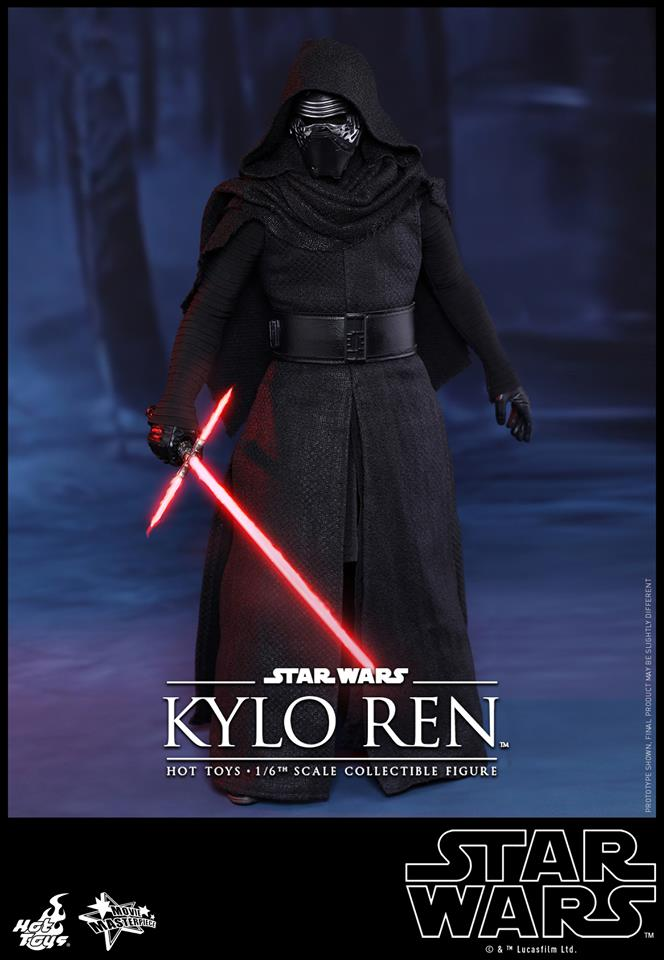 HOT TOYS - Star Wars: TFA - Kylo Ren 166374102