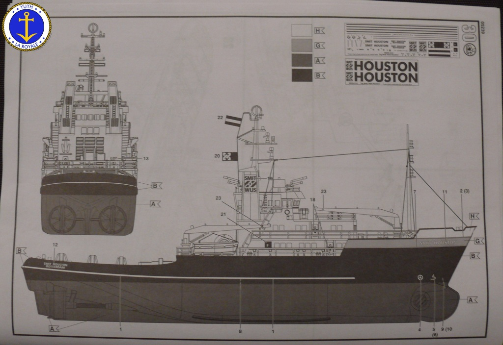 Smit HOUSTON 1/200 Revell 166977SmitHouston17