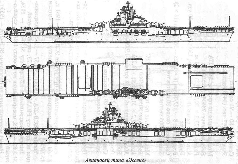 US NAVY PORTE-AVIONS CLASSE ESSEX (5EME PARTIE) 168844ClasseEssex