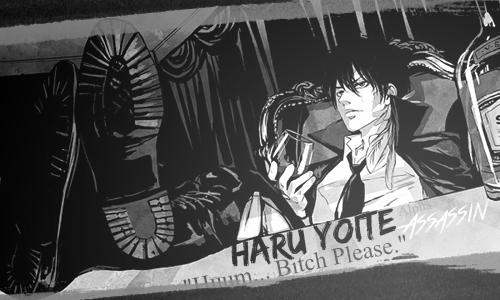 Haru Yoite, l'Assassin au caractère explosif  169599Haru