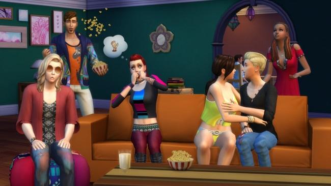 Les Sims 4 Comme au Cinéma [12 janvier 2016] 169796cin2