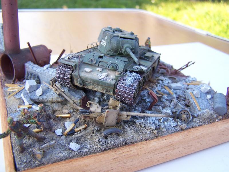 """Duel""  KV1c vs Panzergrenadiere Russie 42 1701471005500"
