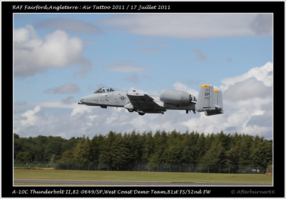 A-10C Thunderbolt II - West Coast Demo Team 170639IMG1583