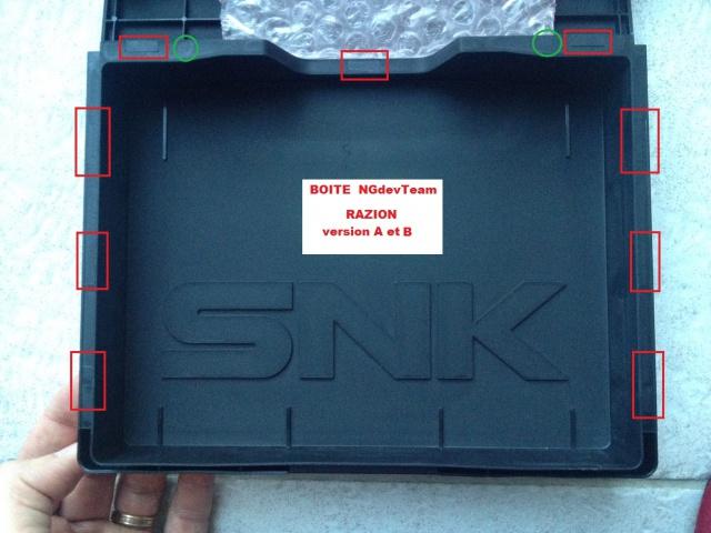 Reconnaitre une boite dure originale SNK et une reproduction 171336BoiteRAZION