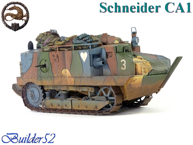 CHAR SCHNEIDER CA 1 - HOBBY BOSS 1/35 172234P1050065