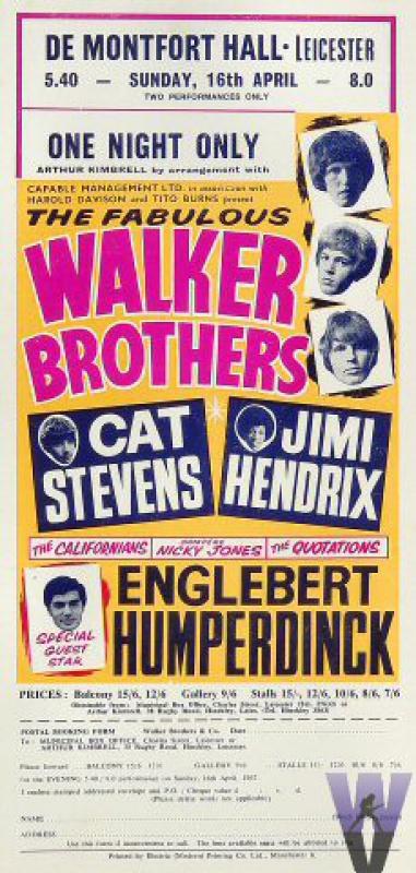 Leicester (De Montfort Hall) : 16 avril 1967 172315670416hb